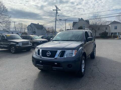 2011 Nissan Pathfinder for sale at Auto Gallery in Taunton MA