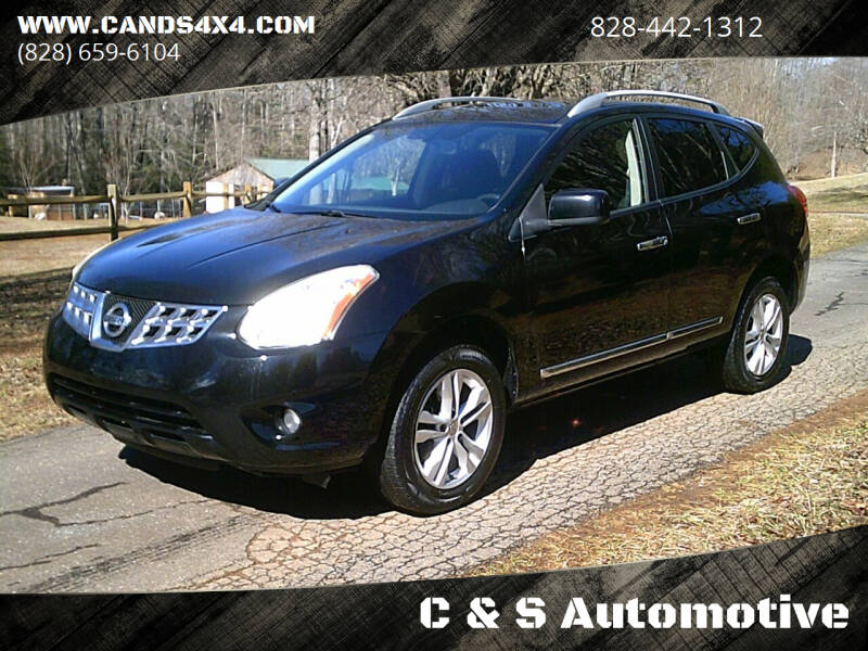 2013 Nissan Rogue for sale at C & S Automotive in Nebo NC