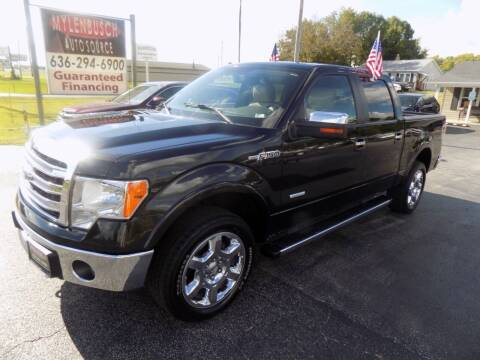 2014 Ford F-150 for sale at MYLENBUSCH AUTO SOURCE in O` Fallon MO