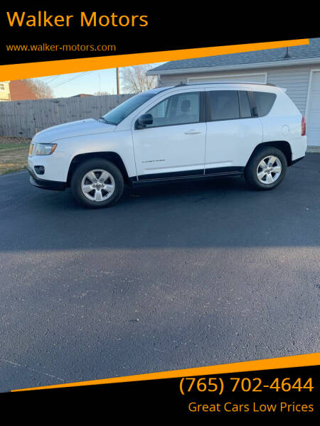 2014 Jeep Compass for sale at Walker Motors in Muncie IN
