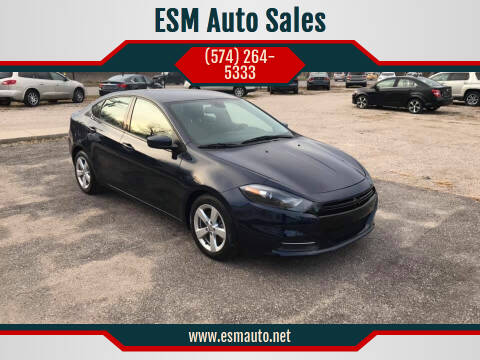 2015 Dodge Dart for sale at ESM Auto Sales in Elkhart IN
