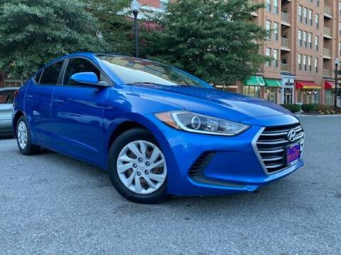 2017 Hyundai Elantra for sale at H & R Auto in Arlington VA
