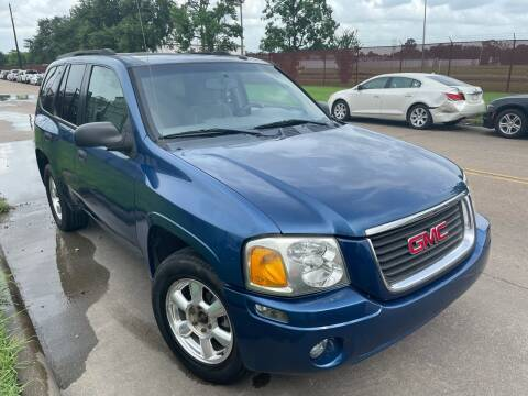 2005 GMC Envoy for sale at TWIN CITY MOTORS in Houston TX