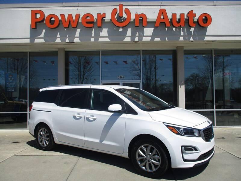 2020 Kia Sedona for sale at Power On Auto LLC in Monroe NC