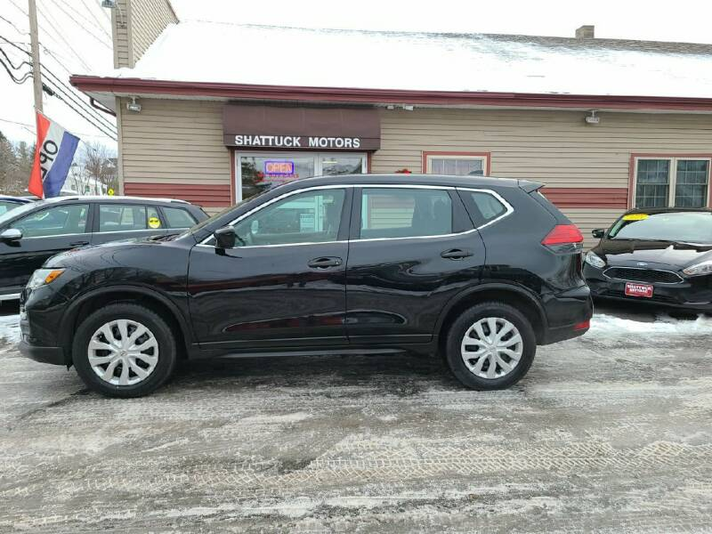 2017 Nissan Rogue for sale at Shattuck Motors in Newport VT