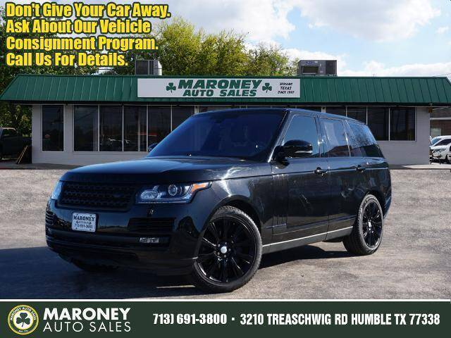 2016 Land Rover Range Rover for sale at Maroney Auto Sales in Humble TX