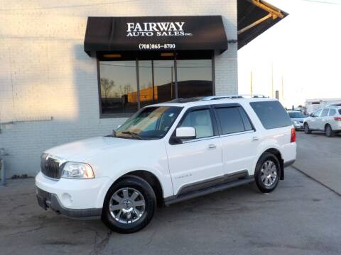 2003 Lincoln Navigator for sale at FAIRWAY AUTO SALES, INC. in Melrose Park IL