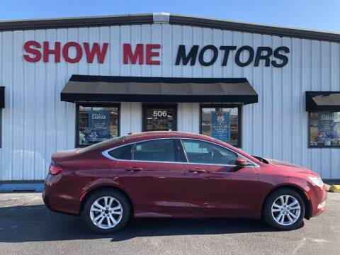 2015 Chrysler 200 for sale at SHOW ME MOTORS in Cape Girardeau MO