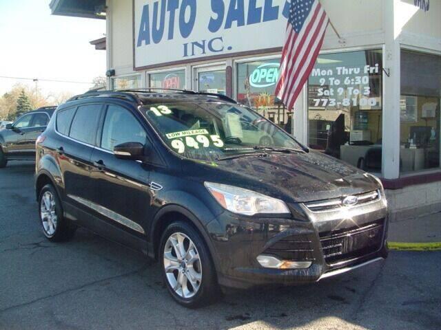 2013 Ford Escape for sale at G & L Auto Sales Inc in Roseville MI