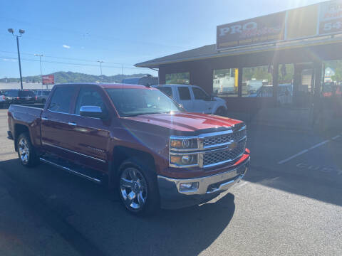 2015 Chevrolet Silverado 1500 for sale at Pro Motors in Roseburg OR
