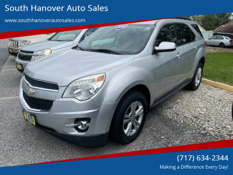 2012 Chevrolet Equinox for sale at South Hanover Auto Sales in Hanover PA