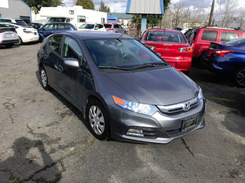 2012 Honda Insight for sale at Autos Cost Less LLC in Lakewood WA