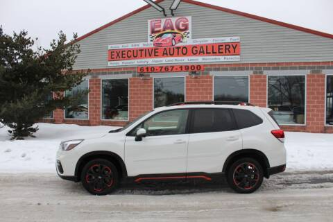 2019 Subaru Forester for sale at EXECUTIVE AUTO GALLERY INC in Walnutport PA