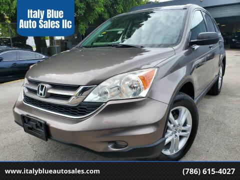 2010 Honda CR-V for sale at Italy Blue Auto Sales llc in Miami FL