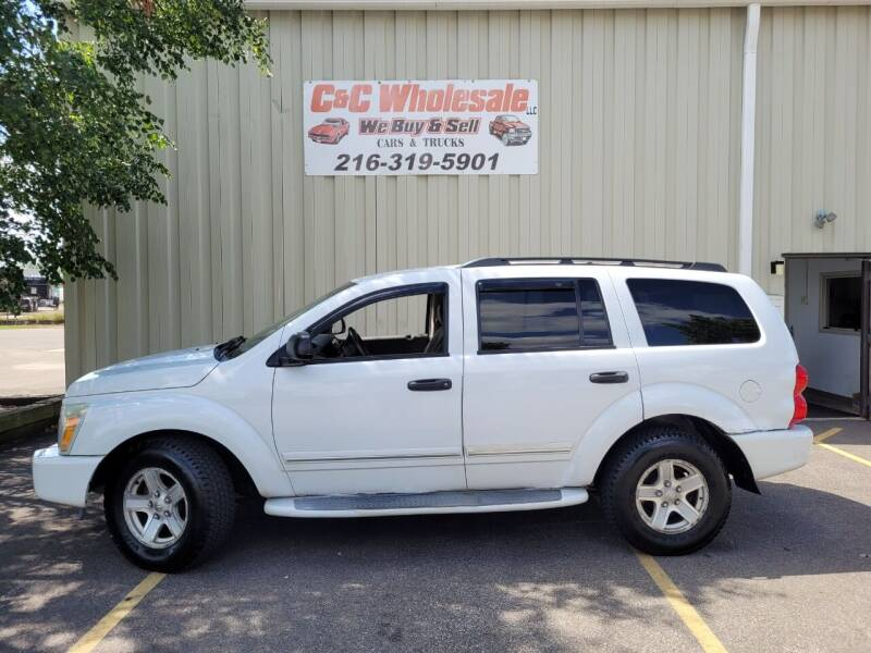 2005 Dodge Durango for sale at C & C Wholesale in Cleveland OH