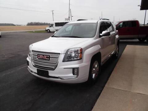 2016 GMC Terrain for sale at Dietsch Sales & Svc Inc in Edgerton OH