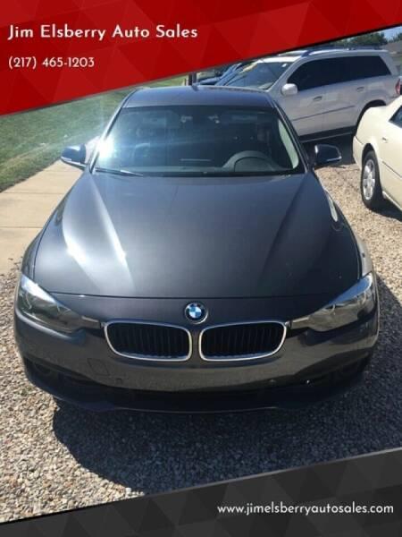 2016 BMW 3 Series for sale at Jim Elsberry Auto Sales in Paris IL