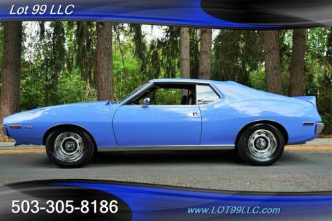 1973 AMC AMX for sale at LOT 99 LLC in Milwaukie OR