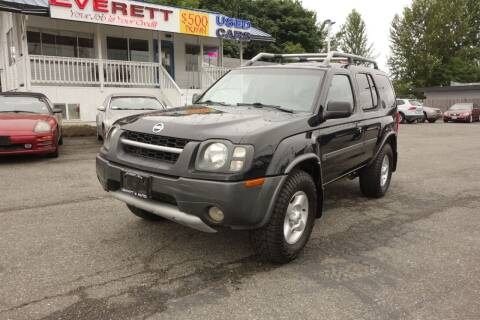 2003 Nissan Xterra for sale at Leavitt Auto Sales and Used Car City in Everett WA