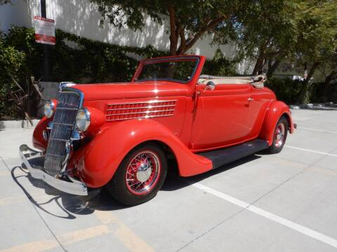 1935 Ford Cabriolet  for sale at California Cadillac & Collectibles in Los Angeles CA