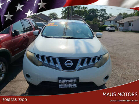 2009 Nissan Murano for sale at MAUS MOTORS in Hazel Crest IL