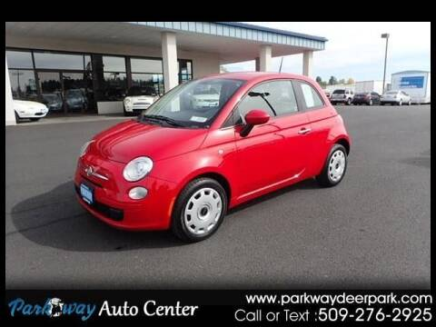 2012 FIAT 500 for sale at PARKWAY AUTO CENTER AND RV in Deer Park WA