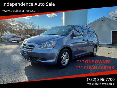 2007 Honda Odyssey for sale at Independence Auto Sale in Bordentown NJ