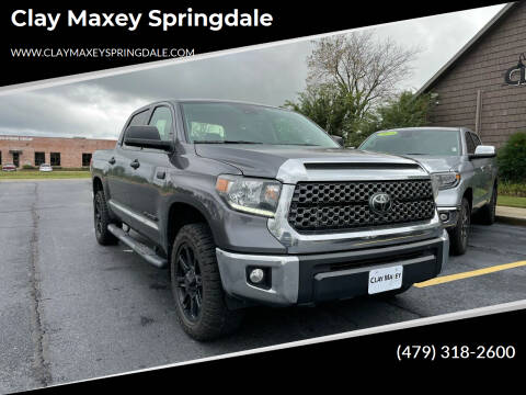 2020 Toyota Tundra for sale at Clay Maxey Springdale in Springdale AR