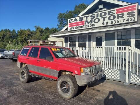 1996 Jeep Grand Cherokee for sale at EASTSIDE MOTORS in Tulsa OK