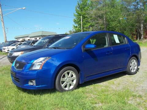 2011 Nissan Sentra for sale at Warner's Auto Body of Granville Inc in Granville NY
