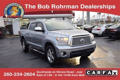 2013 Toyota Tundra for sale at BOB ROHRMAN FORT WAYNE TOYOTA in Fort Wayne IN