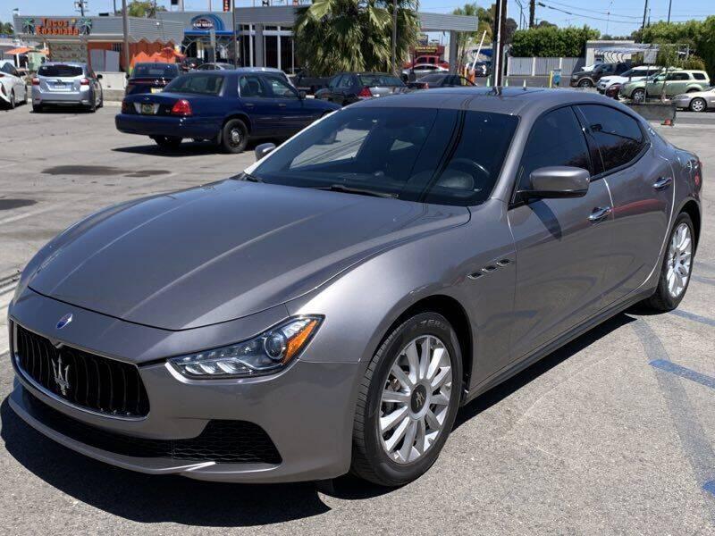 2014 Maserati Ghibli for sale at Best Car Sales in South Gate CA