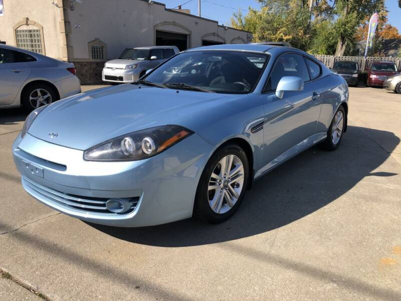 2007 Hyundai Tiburon for sale at AAA Auto Wholesale in Parma OH
