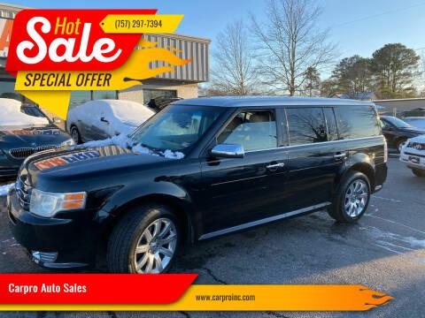 2009 Ford Flex for sale at Carpro Auto Sales in Chesapeake VA