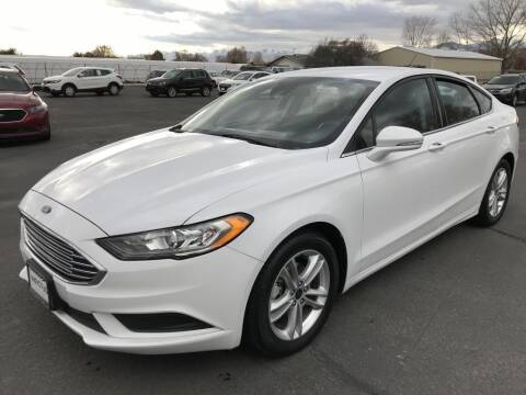 2018 Ford Fusion for sale at INVICTUS MOTOR COMPANY in West Valley City UT