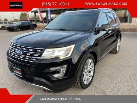 2017 Ford Explorer for sale at SOUTHWEST AUTO GROUP-EL PASO in El Paso TX