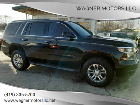 2015 Chevrolet Tahoe for sale at Wagner Motors LLC in Wauseon OH