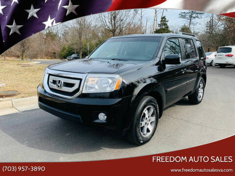 2011 Honda Pilot for sale at Freedom Auto Sales in Chantilly VA