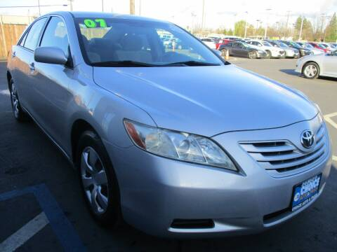 2007 Toyota Camry for sale at Choice Auto & Truck in Sacramento CA