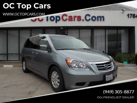 2010 Honda Odyssey for sale at OC Top Cars in Irvine CA