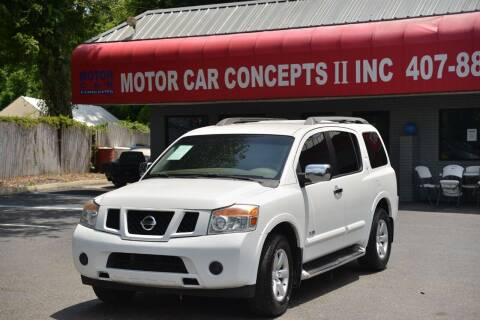 2009 Nissan Armada for sale at Motor Car Concepts II - Apopka Location in Apopka FL