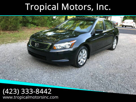 2008 Honda Accord for sale at Tropical Motors, Inc. in Riceville TN