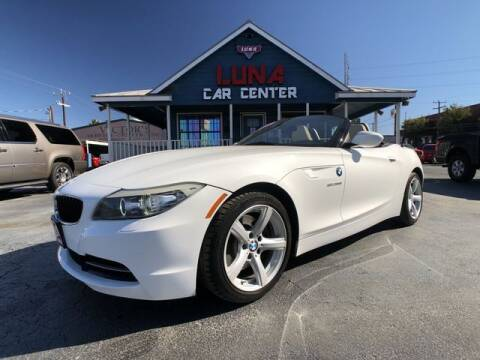 2010 BMW Z4 for sale at LUNA CAR CENTER in San Antonio TX