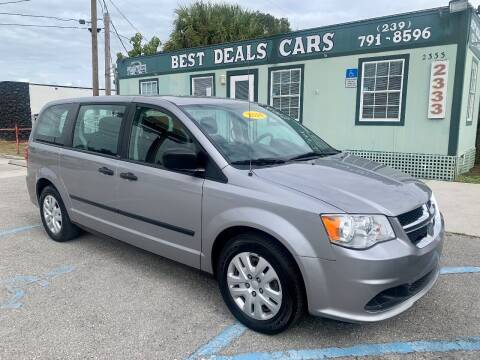 2014 Dodge Grand Caravan for sale at Best Deals Cars Inc in Fort Myers FL