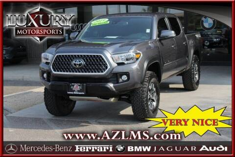 2019 Toyota Tacoma for sale at Luxury Motorsports in Phoenix AZ