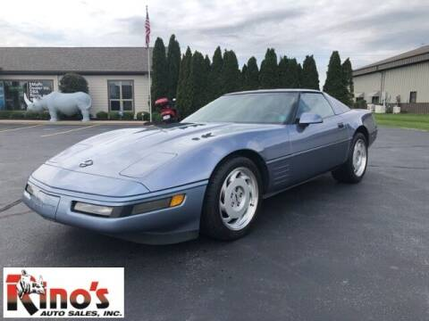 1991 Chevrolet Corvette for sale at Rino's Auto Sales in Celina OH