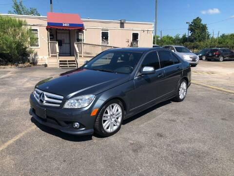 2008 Mercedes-Benz C-Class for sale at Saipan Auto Sales in Houston TX