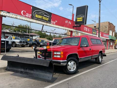 1998 GMC Sierra 1500 for sale at Manny Trucks in Chicago IL