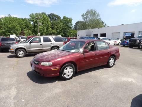 2001 Chevrolet Malibu for sale at United Auto Land in Woodbury NJ