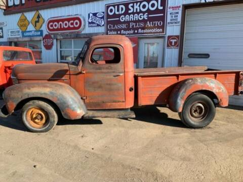1948 International Harvester for sale at Classic Car Deals in Cadillac MI